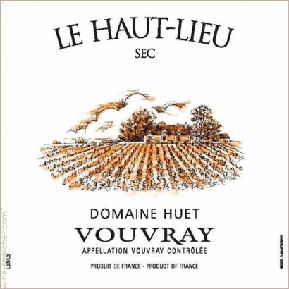 Domaine Huet Vouvray – Wine Dinner – 24/05/16