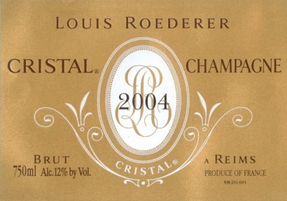 3425-Louis Roederer Cristal Wine Dinner – Wednesday 18th January 2017, 7pm at Fox Fine Wines