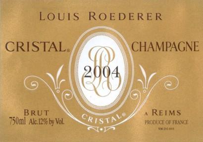 Louis Roederer Cristal Wine Dinner